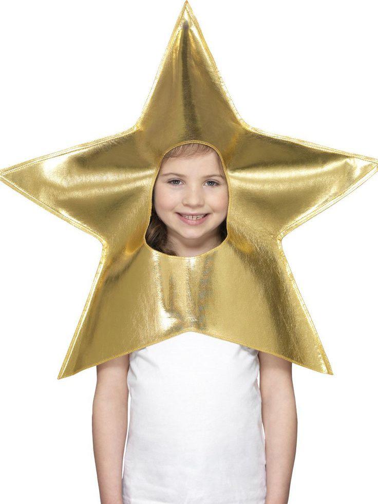 Gouden sterren muts voor kinderen