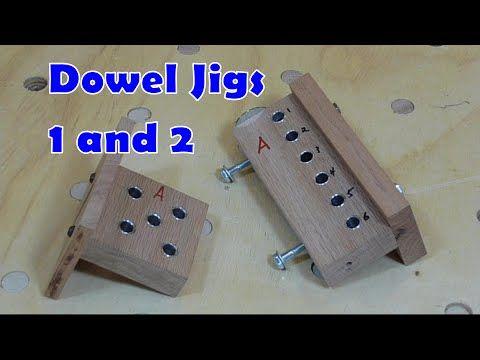 Dowel Jigs 1 and 2 - YouTube