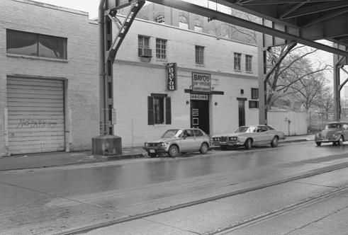 The Bayou, Georgetown, Washington DC, circa 1985