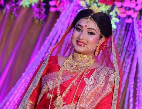 Bengali bridal makeup by - Mayuri Sinha Sarkar  FB page- Mayuri's - The Professional Makeup Artist