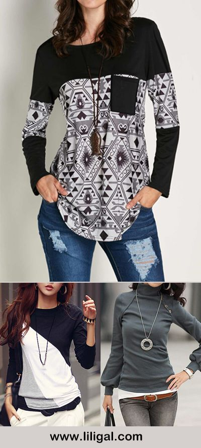 long sleeve blouses for women, Spring outfits, fashion, spring fashion, outfits, casual outfits, cute outfits, women's fashion ideas, women's fashion, women's style, women's inspiration