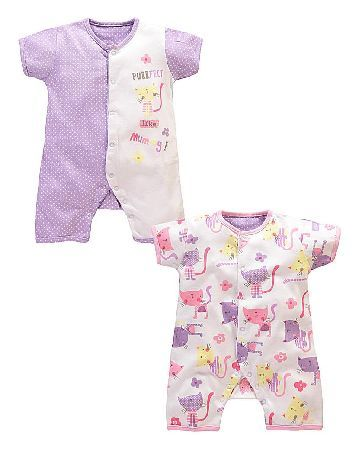 Lollipop Lane Girls Two Pack Rompers These beautiful two-piece romper suits are available from Lollipop Lane, each featuring a cute and adorable slogan with embroidery detailing. Stripes, patterns and soft jersey are combined in these go http://www.MightGet.com/january-2017-13/lollipop-lane-girls-two-pack-rompers.asp