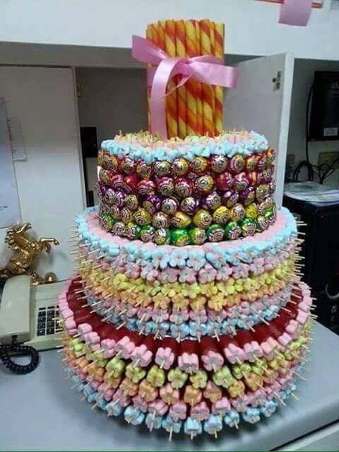 Pinoy Version Of Candy Cake Hotdogs Marshmallows