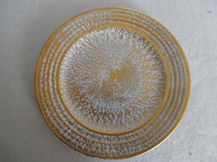 Vintage Stangl Pottery Antique Gold 8\  Salad Plate & 76 best Stangl images on Pinterest | Antique gold Dinnerware and ...