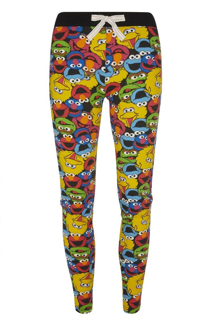 Sesame Street PJ Leggings