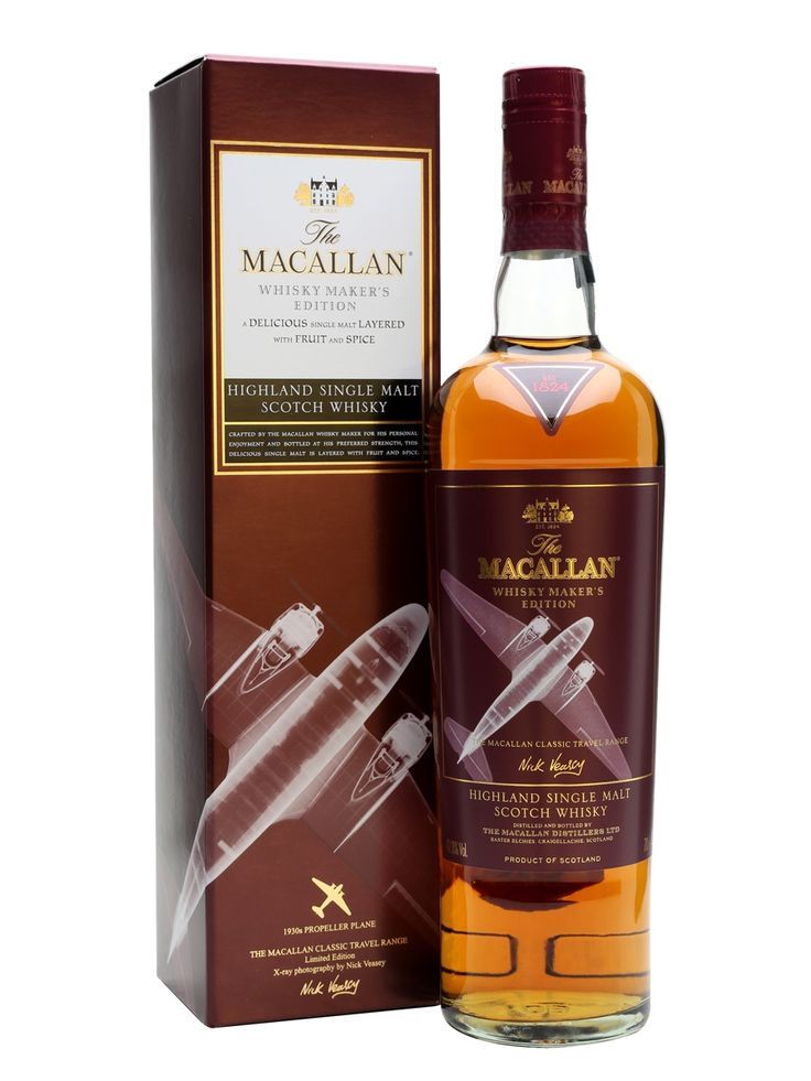 Macallan Whisky Maker's Edition / 1930s Propeller Plane