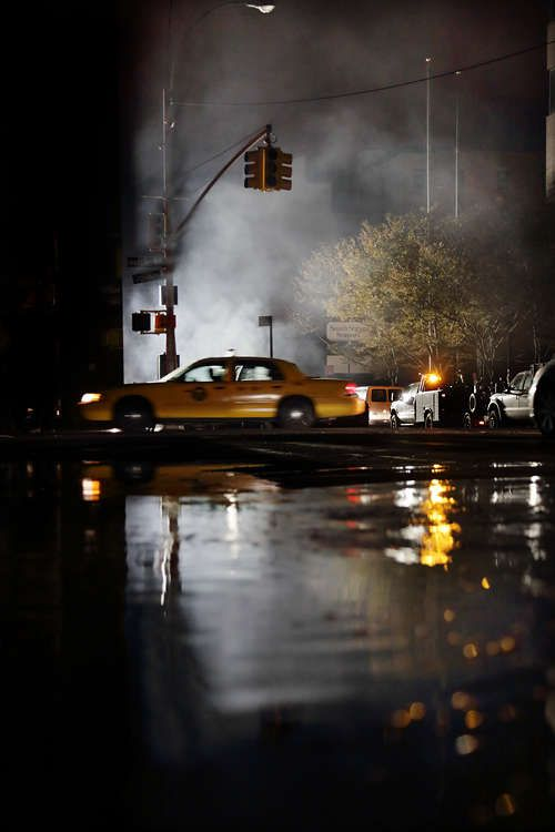 Christophe Jacrot's 'New York in Black' Piece Displays a Bare City #city #photography trendhunter.com