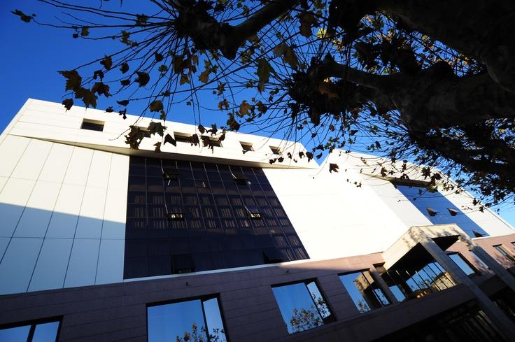 #UVic, Universitat de Vic. Tardor a l'Edifici F.