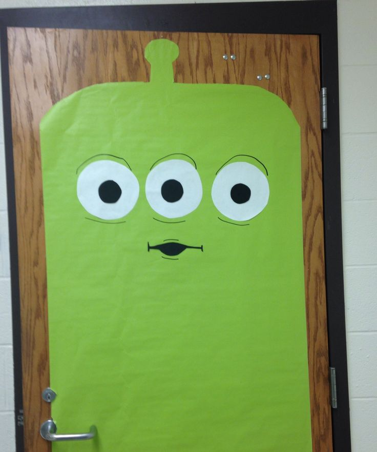Toy Story Alien Classroom Door Decor Toy Story Classroom
