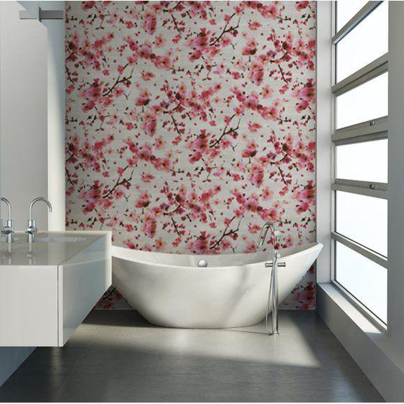 17 meilleures id es propos de chambre en fleurs de cerisier sur pinterest - Papier peint cerisier japonais ...