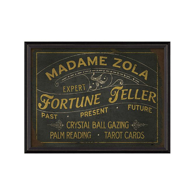 SAVOR THE TASTES AND SOUNDS OF NEW ORLEANS Signs of the Future - Madame Zola $229.99            dotandbo.com  Share & Earn $20 when friends buy!!!