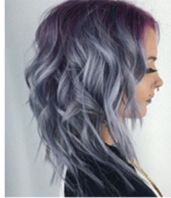25 Best Ideas About Permanent Silver Hair Dye On Pinterest  Midnight Blue H