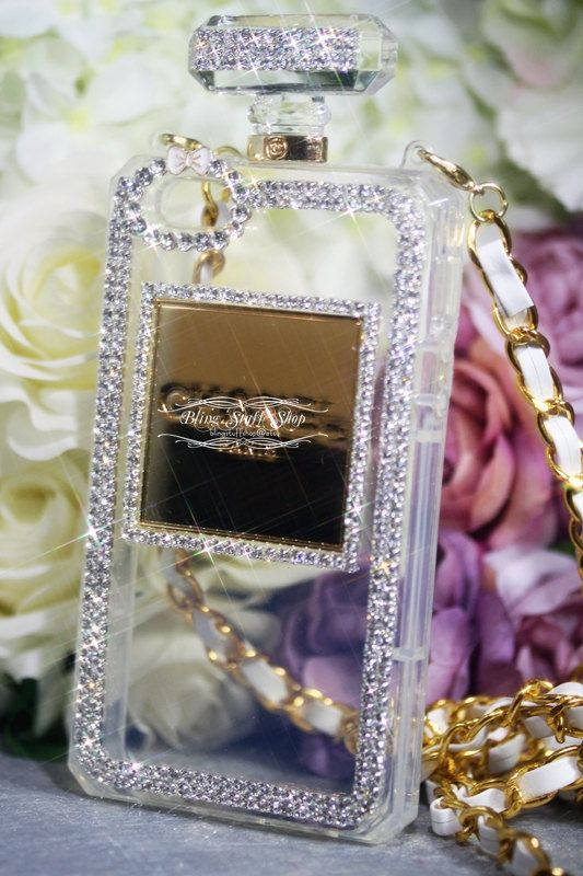 Chanel iphone case Perfume bottle iPhone 5 5s case with Luxury by blingstuffshop, $20.00