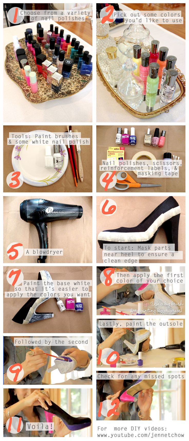 98 best diy shoes images on pinterest | blouses, diy clothing and