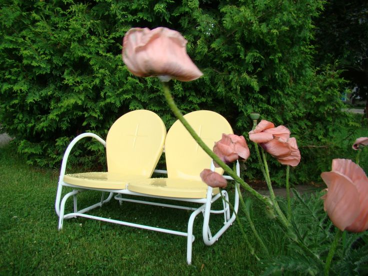 Antique 50u0027s Furniture | Living Vintage: Retro Lawn Furniture