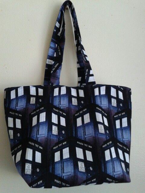 Dr who tote bag