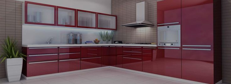 Modular kithcen with latest technology and utilization of space. Get Today with GKInteriors.in