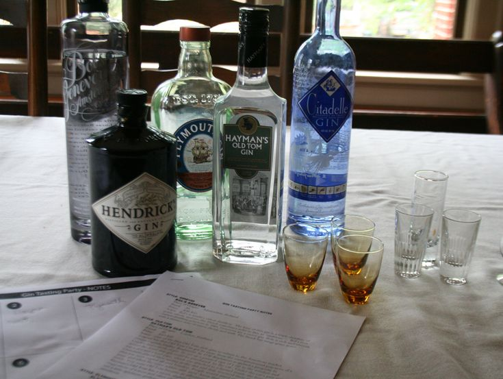Gin tasting party - learn the details on how to throw one yourself.