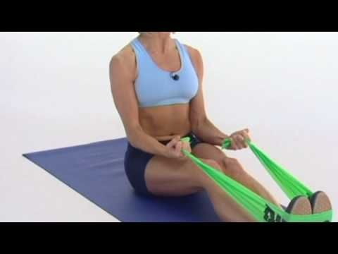 Dyna-Band Workout. Strengthen and tone your muscles with this 5-minute exercise using a Dyna-Band