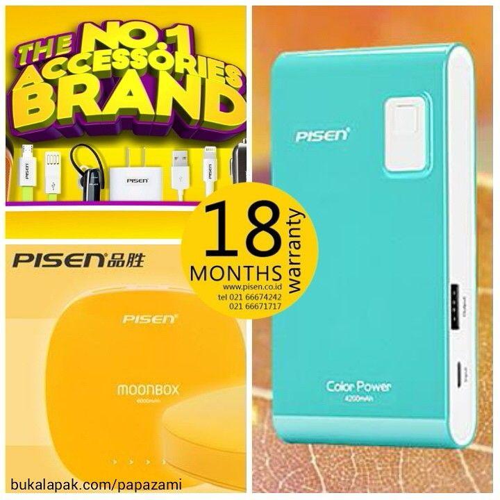 Cari powerbank berkualitas dengan garansi terbaik? Di sini tempatnya www.bukalapak.com/papazami  Produk powerbank ternama dari Pisen dengan garansi 18 bulan  Fast Order: HP/WA/TG: 0815-1100-6400 BBM: 5E2E9F7F LINE ID: papazami  #pisen #pisenindonesia #pisenmart #pisenstore #pisenshop #pisenonline #powerbank #papazami #tokopapazami #onlineshop