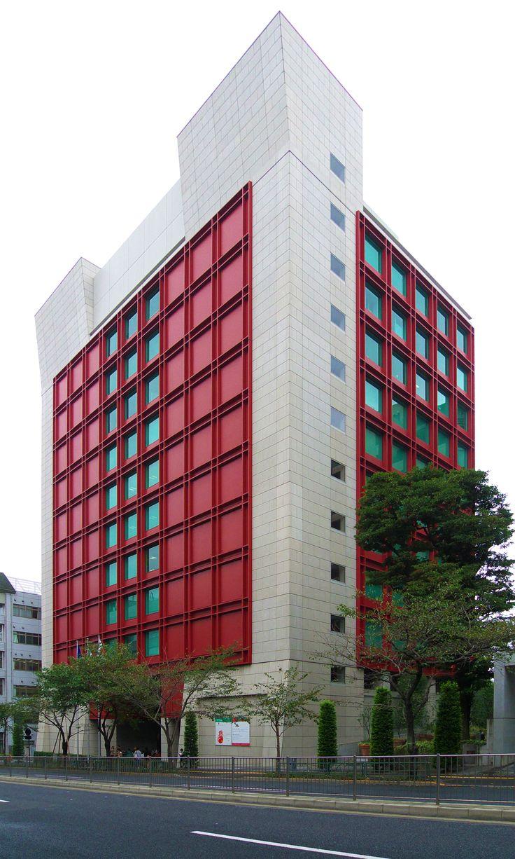 Gae Aulenti Istituto_Italiano_di_Cultura_di_Tokyo.jpg 1.800×3.000 pixel