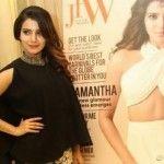 Actress Samantha at JFW magazine