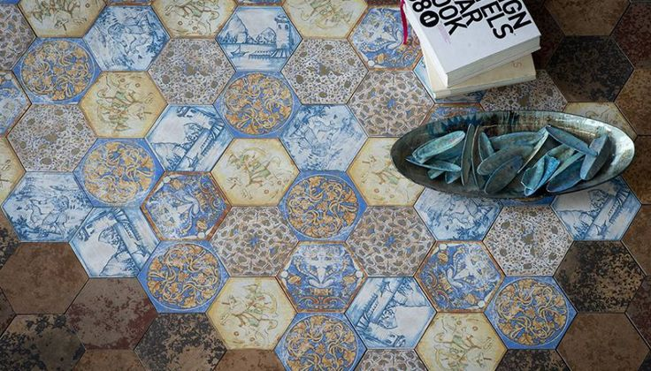 Серия LA GALLERIA — Фабрика ECO CERAMICA — The Tile Club