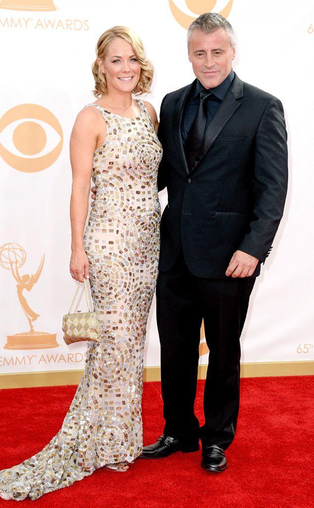 Matt LeBlanc & Andrea Anders from 2013 Emmys: Red Carpet Arrivals   E! Online