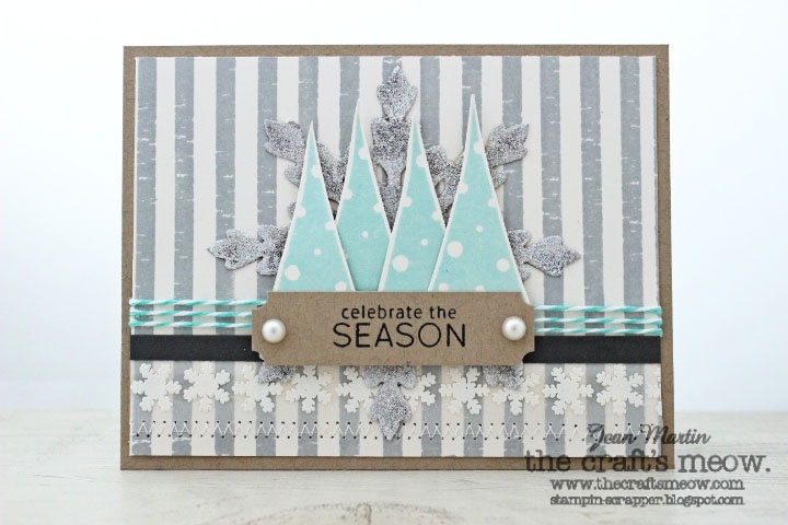 The Craft's Meow Store Blog  also Holiday Foundations and O Christmas Tree  by Jean Martin