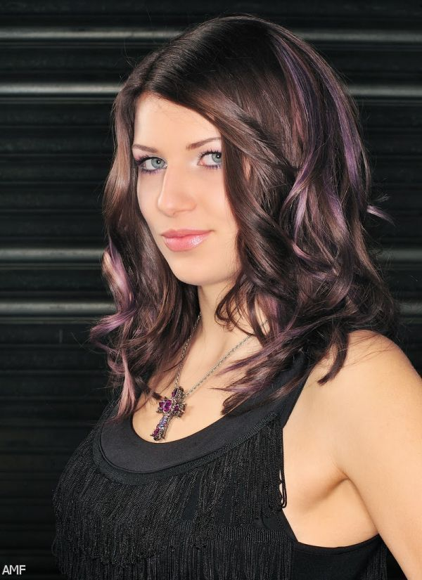 25 trending purple highlights underneath ideas on pinterest lowlights for dark hair google search pmusecretfo Image collections