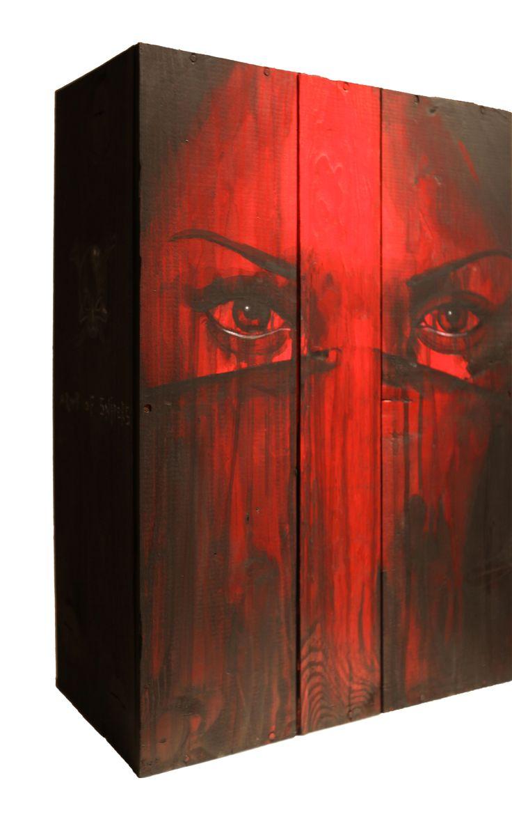 Hustler - Leza One - Urban Muses - @ Evartspace Gallery