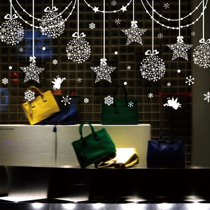 Best Xmas Window Stickers Decals Images On Pinterest Decals - How to make vinyl decals for windows