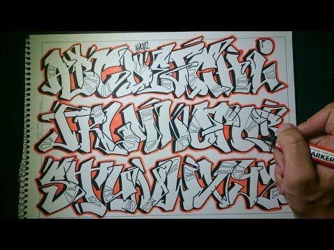 graffiti alphabet throwie style - Google-søgning