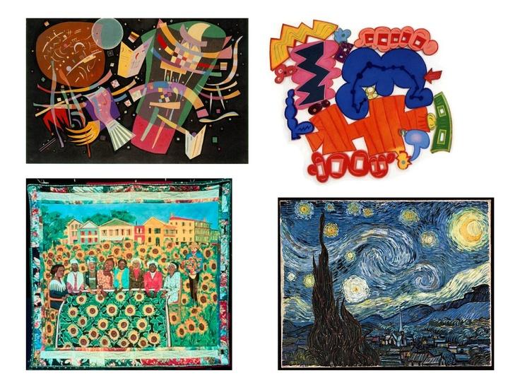 Art at Becker Middle School: Elements of Art