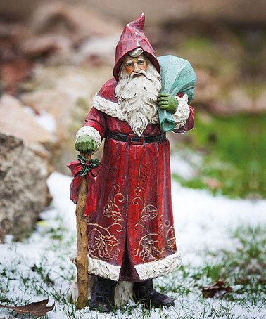 Take a look at this Old World Santa Figurine by Evergreen on #zulily today!