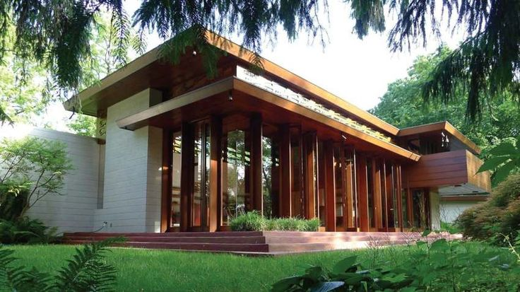 Une maison signée par l'architecte Frank Lloyd Wright déplacée dans un musée de l'Arkansas, maison-Bachman-Wilson-de -Frank-Loyd-Wright #construiretendance