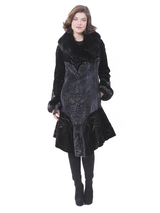 AVANTI FURS - EXCLUSIVE MINK COAT  #avantifurs #furs #kastoria #fashion #coat #women #shop #online #eshop #mink #handmade #unique