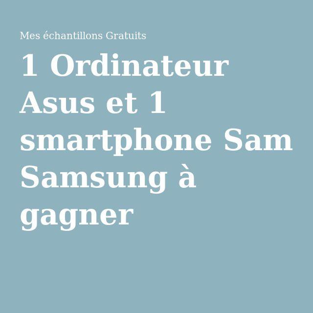 1 Ordinateur Asus et 1 smartphone Samsung à gagner les réponses sont Joyeuses-et délicieuses-fêtes- de paques.Bonne chance