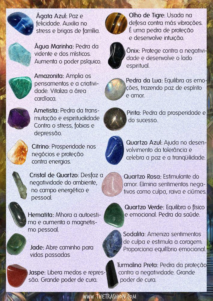 pedras e seus significados - Pesquisa Google