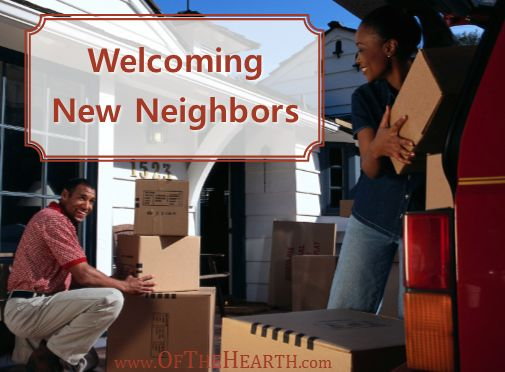 A great way to establish good relationships with your neighbors is to welcome new ones as they move in. Here are 6 ideas for welcoming new neighbors.