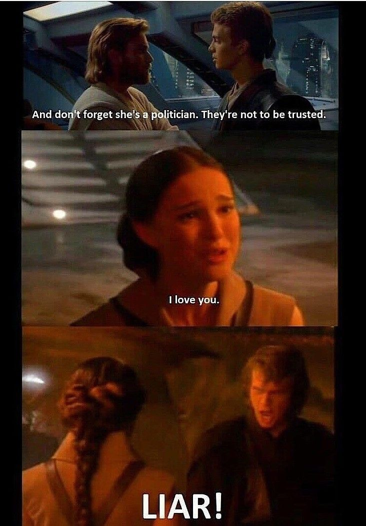 That Was Taken Out Of Context Starwars Prequels Starwarsprequels Memes Starwarsmemes Prequelmemes Fun Star Wars Women Star Wars Humor Star Wars Memes