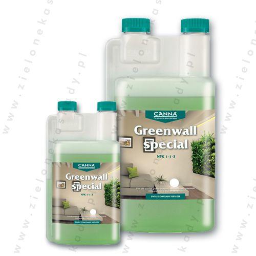 Nowość!!! Przedstawiamy produkt renomowanej marki CANNA specjalnie stworzony do Zielonych Ścian! CANNA Zielona Ściana to płynny, wieloskładnikowy, nawóz z mikroelementami, opracowany do wszelkich odmian zielonych ścian (pionowe ogrody, zielone ściany, żywe ściany, ściany jadalne, itp), zarówno w domu jak i w biurze, zapewnający kwitnienie, świeży i zielony wygląd. Już niedługo dostępny w naszym sklepie www.zielonekaskady.pl