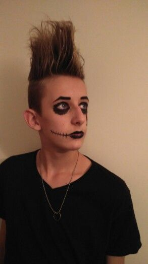 Bvb makeup (Andy Black)  Done by @rikipekepo