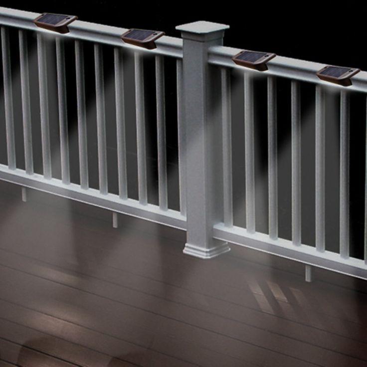 Best 25+ Solar deck lights ideas on Pinterest | Exterior ...