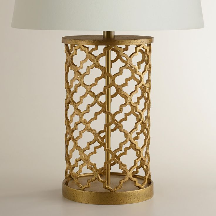 Distressed Gold Moroccan Table Lamp Base. Moroccan Table LampMoroccan RoomMoroccan  Living ...