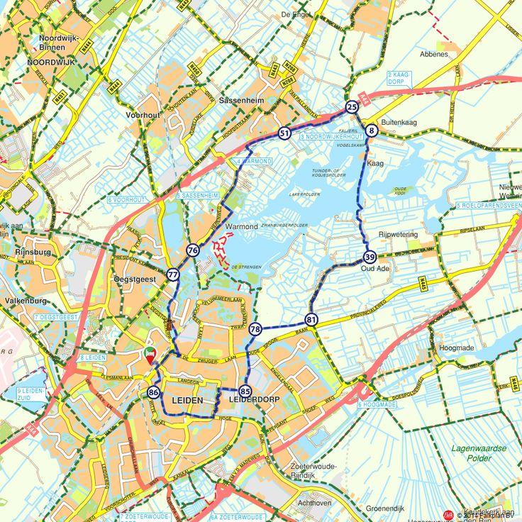 Fietsroute: Rondje Kagerplassen (http://www.route.nl/fietsroutes/147923/Rondje-Kagerplassen/)
