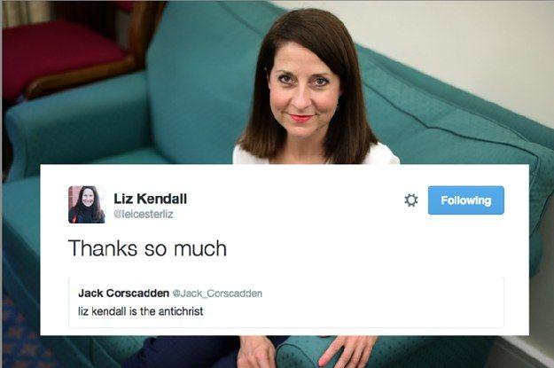 Liz Kendall Has Finally Had Enough Of The Twitter Trolls / @buzzfeed | #socialpolitics