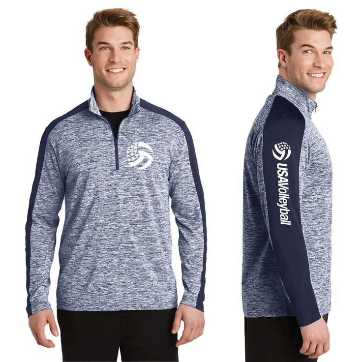 USA Volleyball Men's 1/4 Zip | USA Volleyball Shop