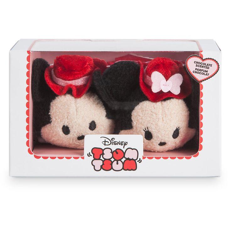 2017 Valentine's Day Mickey and Minnie Tsum Tsum Box Set - Scented like chocolate