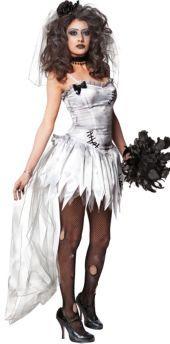 Adult Zombie Bride Costume - Party City